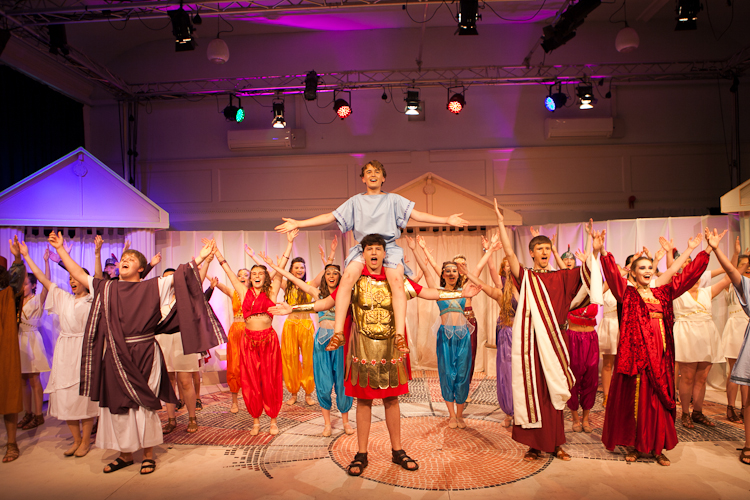 A Funny Thing Happened On The Way To The Forum – Zenith Youth Theatre