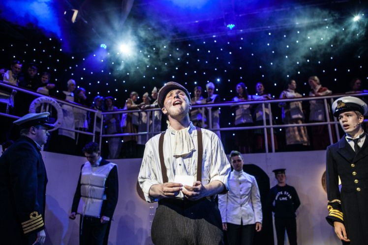 Luke's lighting design for Titanic the musical has been nominated for a Rose Bowl Award